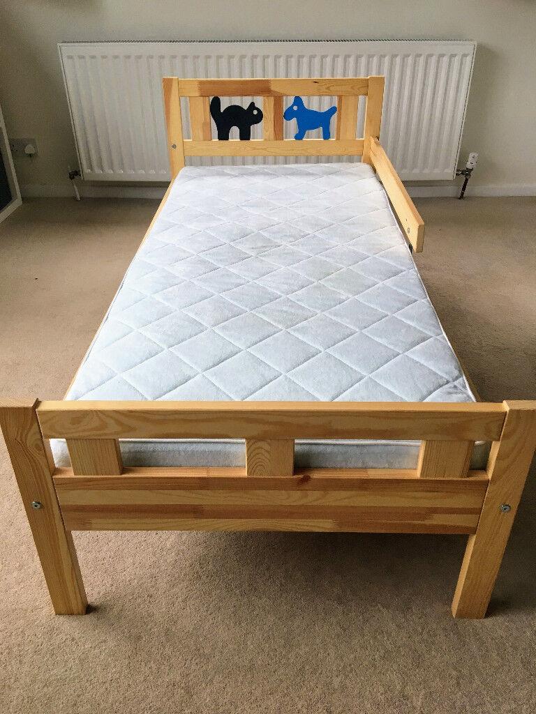 Ikea kritter bed frame and ikea vyssa vackert mattress - Letto kritter ikea ...