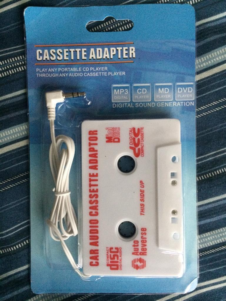 Cassette adapter for sale £2 ( Quick Sale )