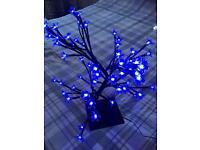 Blue light Up Tree