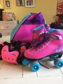 SDR roller skate set