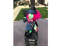 TY beanie Halloween witch 2000