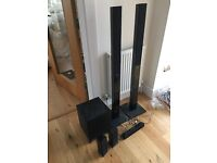 Sony home theatre system with blu ray player BDV E870