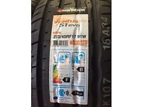 Hankook brand new Run Flat tyres size 225 45 17
