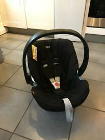 Aton car seat and Isofix base