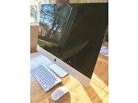 27 inch iMac, 3.2 Ghz QuadCore i5, 8GB RAM, 1TB Hard drive, 1GB NVIDIA Graphics.