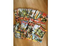 Collection of Trout Fisherman Magazines