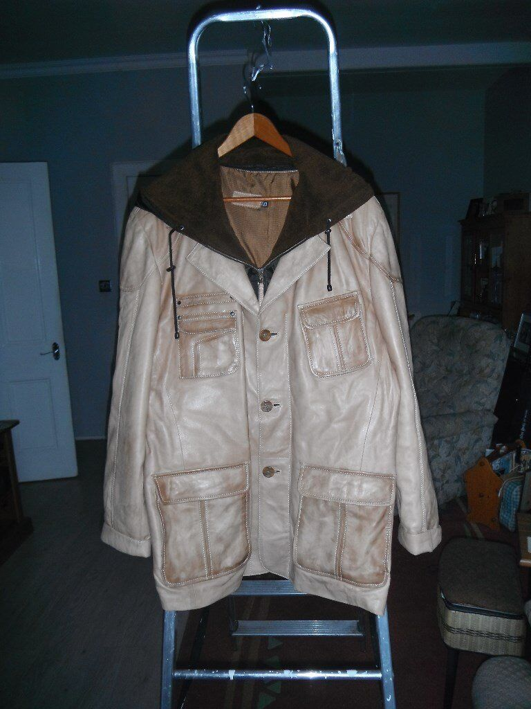 3 gents leather jackets xl