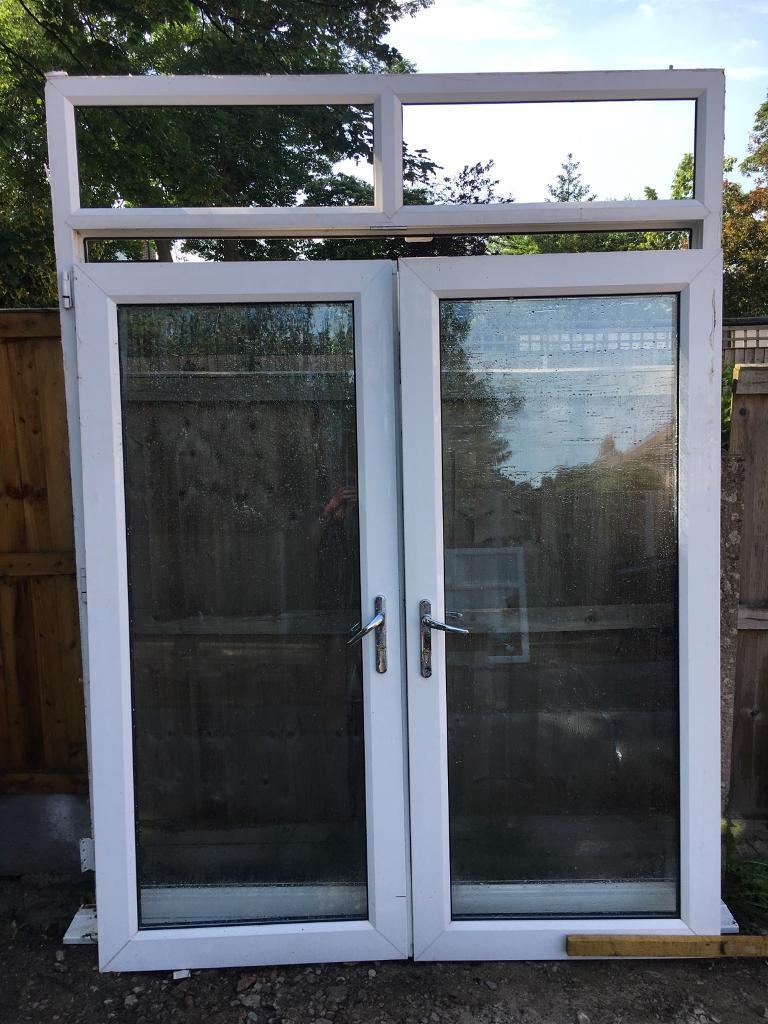 Used Double Glazed French Doors Upvc In Liverpool Merseyside