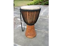"13"" Professional Double Weave African Djembe"