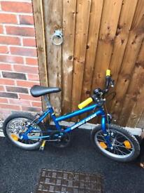 Child's bike 4/5 yr old