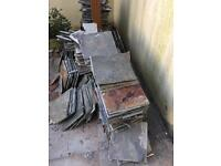 Quarry tiles free to collector