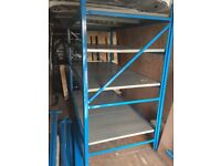 Heavy duty racking and shelving unit