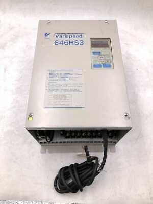 Yaskawa 646hs3 Cimr-hfs23p7 Varispeed Inverter 3ph 0-230v
