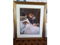 Wake Up! It's Christmas Morning! Arthur J. Elsley Framed Print