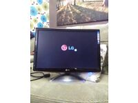 """LG 22"""" Flatron W2284F flat-screen computer monitor. Basically brand new. Excellent condition."""