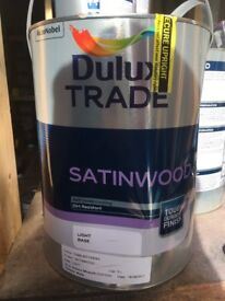 Dulux trade satinwood-slight off white-code 15488-17.5litres
