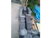 "Welsh Purple Roofing Slate - Approx 2000 mostly 8"" (21cm) with some bigger sizes £200 ovno"