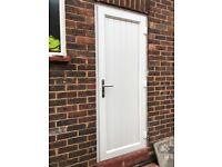 External door H 202cm x W 83 cm. excellent condition
