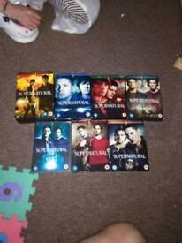 supernatural season 1-7