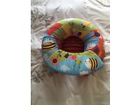 Red kite sit me up inflatable ring seat