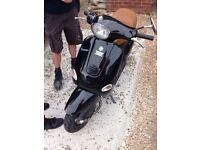 125cc piaggio Vespa scooter moped bike mx swap px