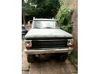 1968 Ford F100 monster truck on going project