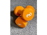 3kg Dumbbells - Fitness Mad - excellent condition