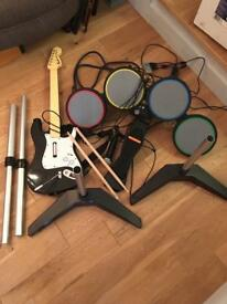 Xbox Rock Band kit