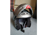 HJC SY-MAX Convertible Flip-Up Open/Full Face Helmet Silver L (not arai klim bell) offers?
