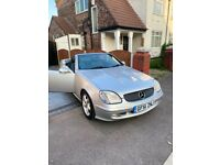 Mercedes slk 320 hard top convertible