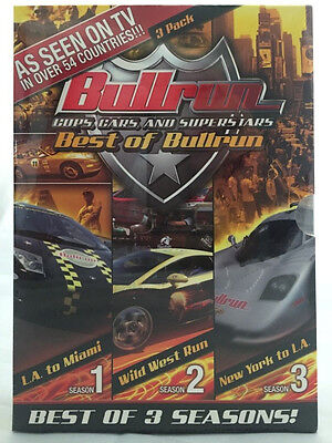 Bullrun - Cops, Cars and Superstars - Best of Bullrun (3 DVD Set, 2007) -