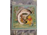 Winnie the pooh hanging plate