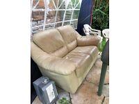 Leather sofa,good condition