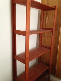 Wooden Shelving Stand Unit - storage - upcycle