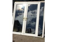 Upvc French doors ideal for summerhouse 77x81 inches