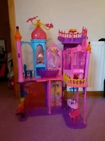 Barbie princess castle/ house £10