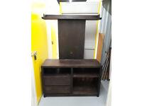 TV/Media cabinet handmade in beautiful wood
