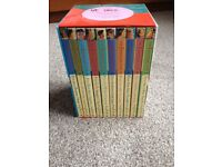 The famous five set of 10 books