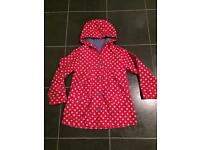 Girls age 6-7 raincoat