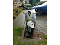 50cc moped Direct Bikes Retro - long MOT!