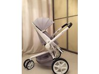 Quinny mood puschair, carrycot,maxi-cosi car seat and newborn nest