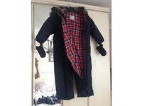 Snowsuit - originally from M&S. Will fit 12-18 months. Excellent condition!