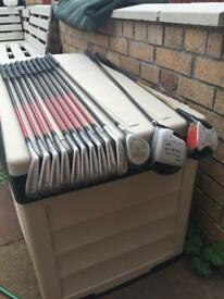 Full set of Pro Kennex irons with Howson woods