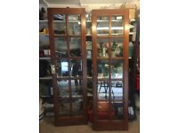 Very Good Condition - Double Doors - Wooden with Glass Panels