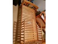 Solid pine toddlers bed