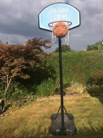 Adjustable height Basket Ball Hoop