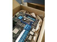AMD FX 6200 3.8GHZ 6 cores, GTX 970 MSI 4GB, Asus m5A99x motherboard, 16GB RAM 1333MHz samsung