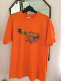 Cambridge Folk Festival t-shirt