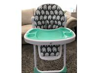 My babiie high chair