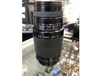Sigma auto focus, 75-300mm